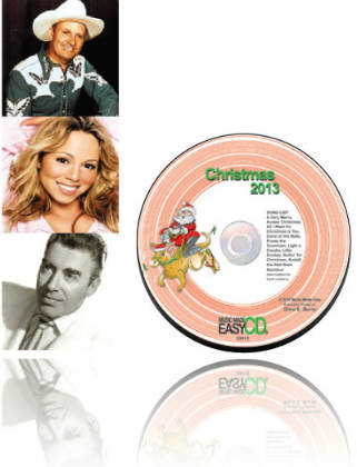 Christmas 2013 CD, Lyrics & Notation