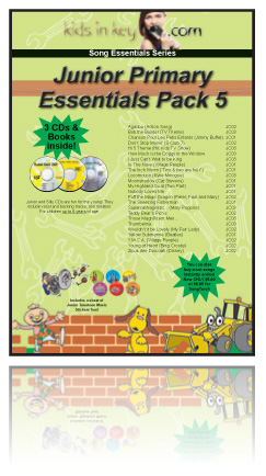 Essentials Pack - Junior Primary 5 - 3 Books & CDs