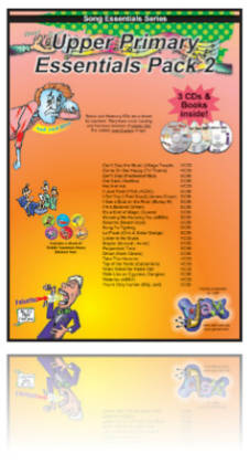 Essentials Pack - Upper Primary 2 - SongTorch files, CDs & Books