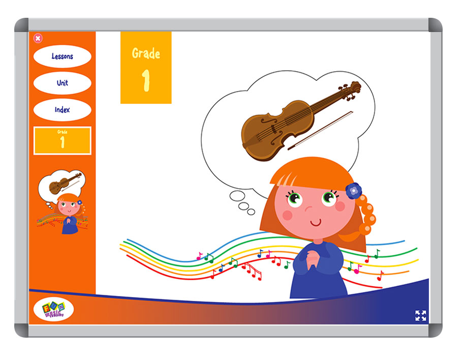 Fun Music Company - Music Curriculum Grade K-6, All Online Content 1 YEAR Renewal ONLY