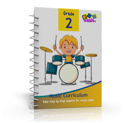 Fun Music Company - Music Curriculum Grade 2, Guide Book, CD and Online Content Annual Subscription