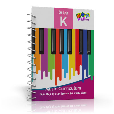 Fun Music Company - Music Curriculum Grade K, Guide Book, CD and Online Content Annual Subscription