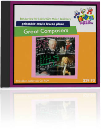 Fun Music Company - Great Composers CDROM