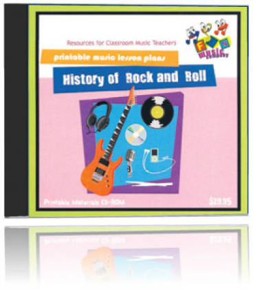 Fun Music Company - History of Rock & Roll CDROM