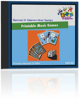 Fun Music Company - Printable Music Games CDROM