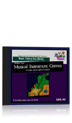 Fun Music Company - Musical Instrument Games CDROM