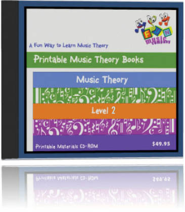 Fun Music Company - Music Theory Level Two CDROM