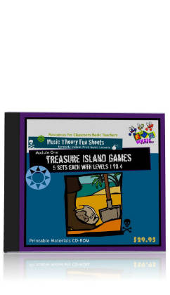 Fun Music Company - Fun Sheets Pack of  ALL 4 CDROMs