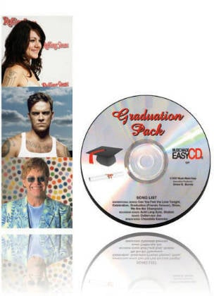 Graduation Pack CD & Book
