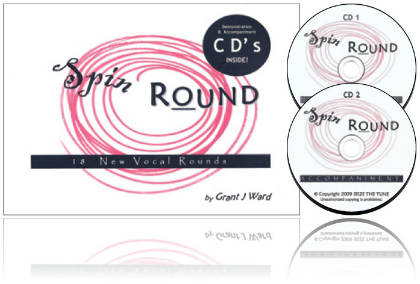 Grant J Ward - Spin Round Book and Double CD