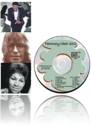 Harmony Choir 2002 CD & Notation