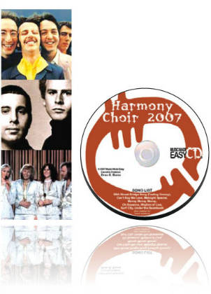 Harmony Choir 2007 CD and Notation