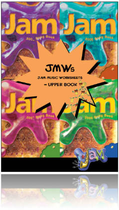 Jam Music Worksheets - Set of 3 separate books & CD