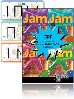 Jam Rhythm Fun - All-in-one Book, Cards & CD