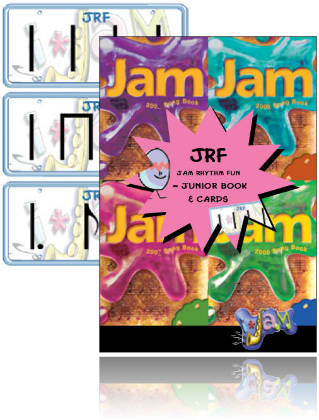 Jam Rhythm Fun - Junior Book & Flash Cards