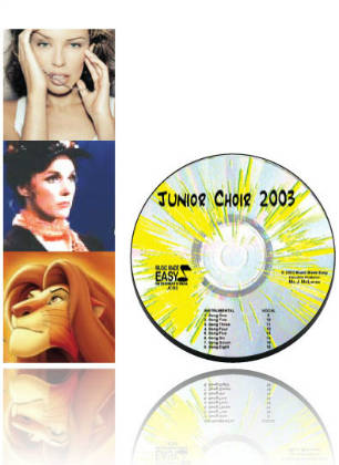 Junior Choir 2003 CD & Notation