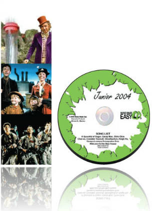 Junior 2004 SongTorch files, CD & Book