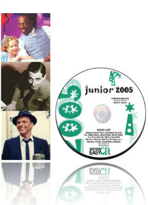 Junior 2005 SongTorch files, CD & Book