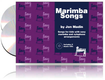 Jon Madin - Marimba Songs Book and Double CD