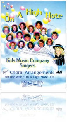 Kids Music Co. - On a High Note 1 - CD & Book