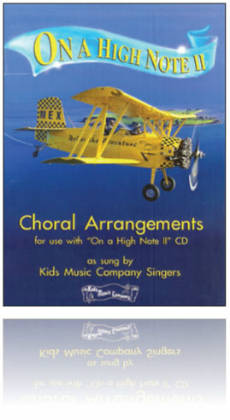 Kids Music Co. - On a High Note 2 - CD & Book