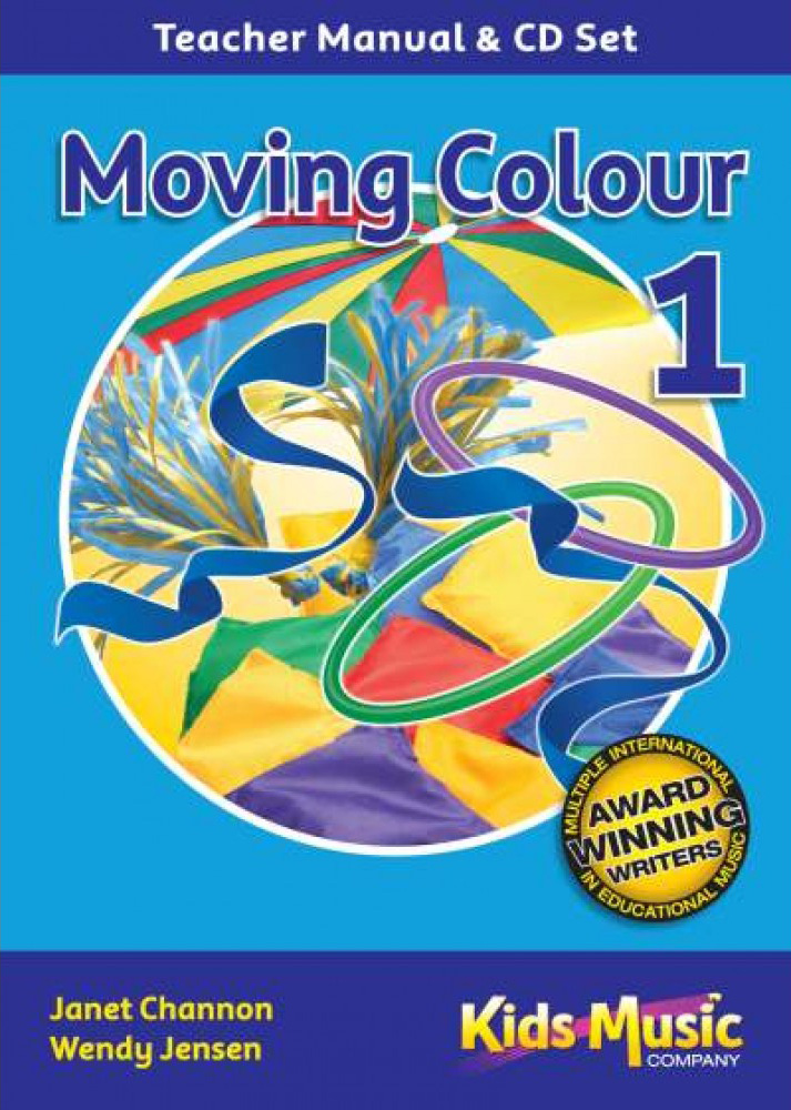 Kids Music Co - Moving Colour 1 - CD & Book
