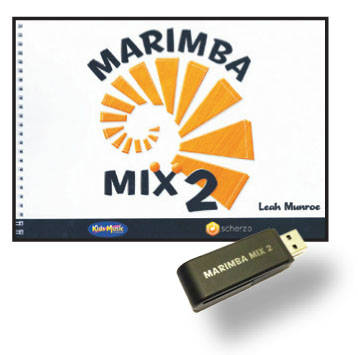Kids Music Co. - Marimba Mix 2 Book & USB