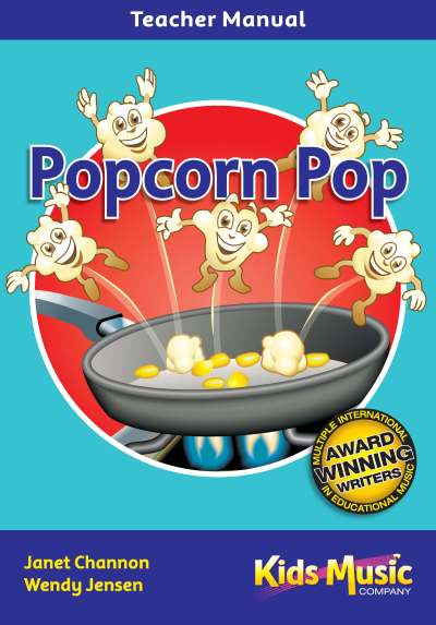 Kids Music Co. - Popcorn Pop Book & CD