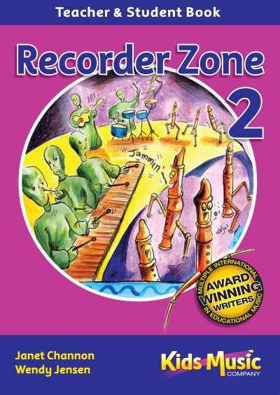 Kids Music Co. - Recorder Zone Two CD & Book