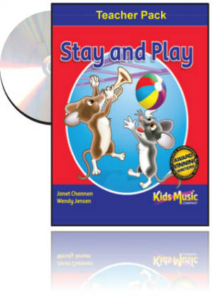 Kids Music Co. - Stay and Play Teachers Pack with Mini Book, Music CD and Data Disk