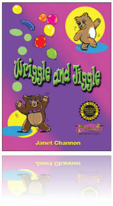 Kids Music Co. - Wriggle & Jiggle Book & CD