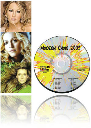 Modern Choir 2003 CD & Notation