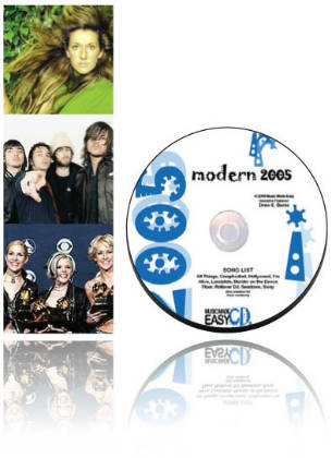 Modern 2005 SongTorch files, CD & Book