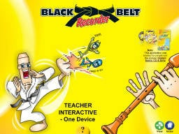 Black Belt Recorder Interactive DVD Rom One Device