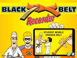 Black Belt Recorder Student Orange Mobile (iPad/iPod/iPhone only)