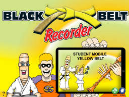 Black Belt Recorder Student Yellow Mobile (iPad/iPod/iPhone only)