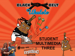 Black Belt Ukulele Student Book Three, Audio App and Belts