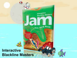 Jam 2016 Class Pack of 15 books, Int.Blackline & 3CDs