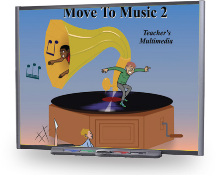 Move to Music 2 - Music Drama and Movement Multimedia
