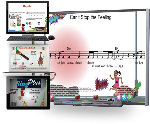 Sing Plus Teacher's Multimedia