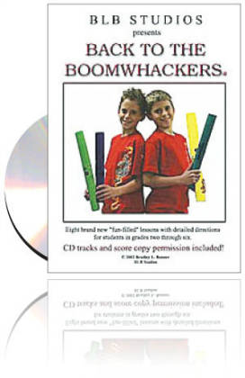 Back to the Boomwhackers Book & CD