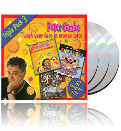Peter Combe - Triple Pack 3 SET of 3 CDs & 2 Books