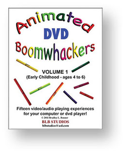 Animated Boomwhackers DVD Volume One