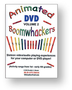 Animated Boomwhackers DVD Volume Two