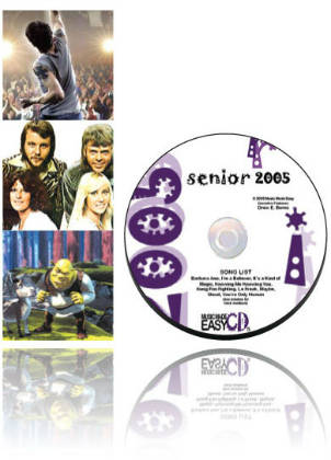 Senior 2005 SongTorch files, CD & Book