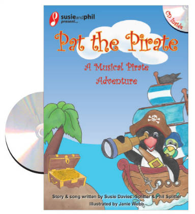 Pat the Pirate Story Book, CD & Multimedia Book