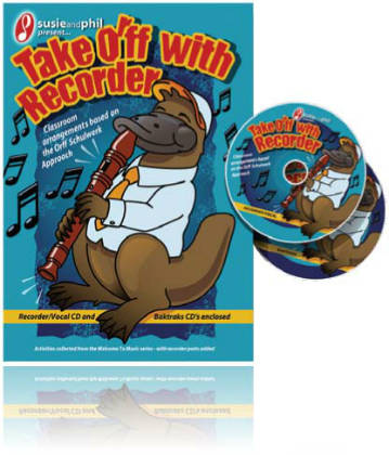Take ORFF with Recorder Book & Double CD