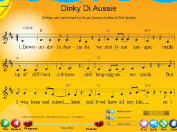 Dinky Di Aussie - SongTorch Multimedia File