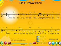 Black Velvet Band - SongTorch Multimedia File