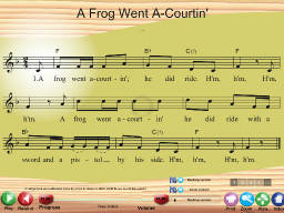 A Frog Went A-Courtin' - SongTorch Multimedia File